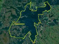 Satellite image of the San Rafael Nature Reserve