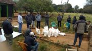 Training on Corn Crop and delivery of corn seeds to beneficiaries on Jovere's community