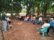 Reunions with the beneficiaries on Libertad del Sur, Jovere and indigenous communities