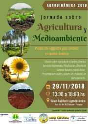 5ta Jornada Agroambiental - Agrodinámica 2018