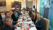 Cena con la CCU y A todo Pulmón