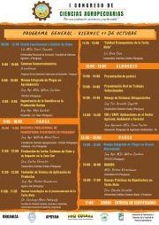 Programa General - Viernes 11/10