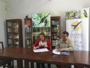 Convenio entre Guyra Paraguay y PRO COSARA