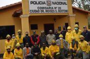 Bomberos Forestales de San Rafael y Brigada Forestal Guyra Campana de K141