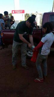 Comunidades de Mberu Pirapo´i y Pindojú