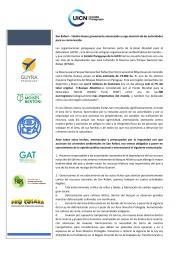 Las Organizaciones Paraguayas que formamos parte de la UICN