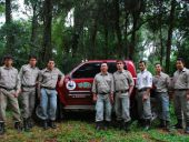 Monitores forestales de Pro Cosara