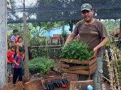 Cooperación con los pequeños agricultores de la región