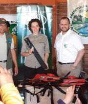 Donaciones de equipos Forestales