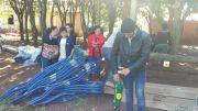 Capacitación sobre Huerta y entrega de herramientas